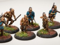 French Indian Wars 28mm