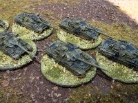 Team Yankee 1285th Teeny Tanks